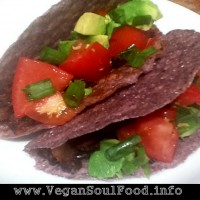 Blue Corn Chipotle Tacos